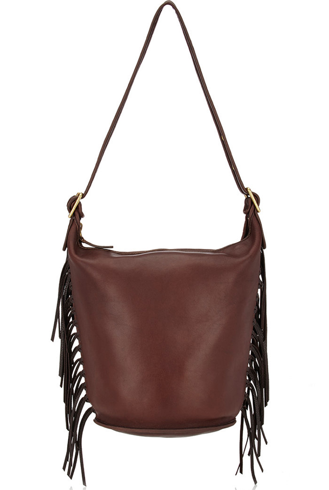 Coach-Vintage-Fringe-Duffle-Shoulder-Bag