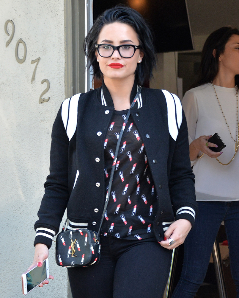 Demi-Lovato-Saint-Laurent-Camera-bag