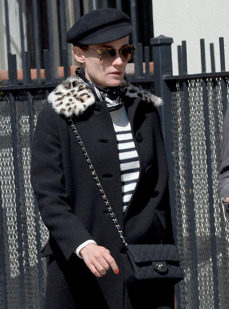 Diane-Kruger-Chanel-Mini-Flap-Bag