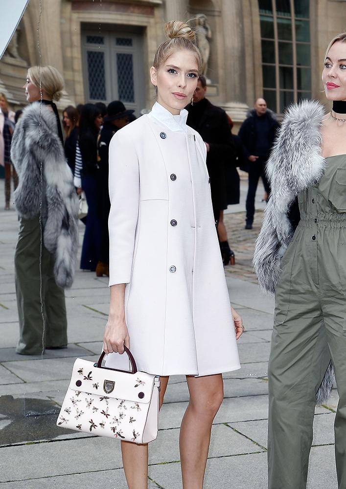 Elena-Perminova-Christian-Dior-Diorever-Bag