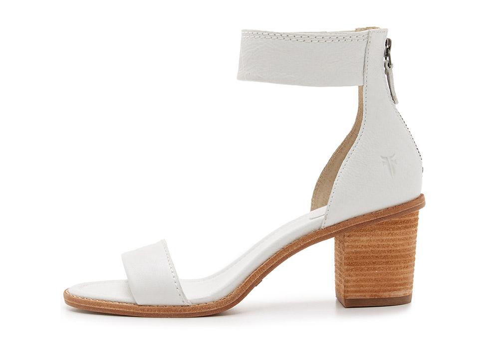 Frye Brielle Back Zip Sandals