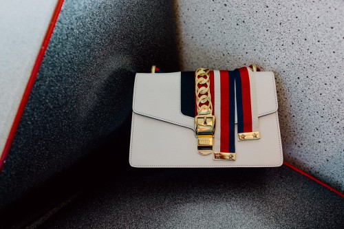 Gucci Sylvie Bag in Off-White