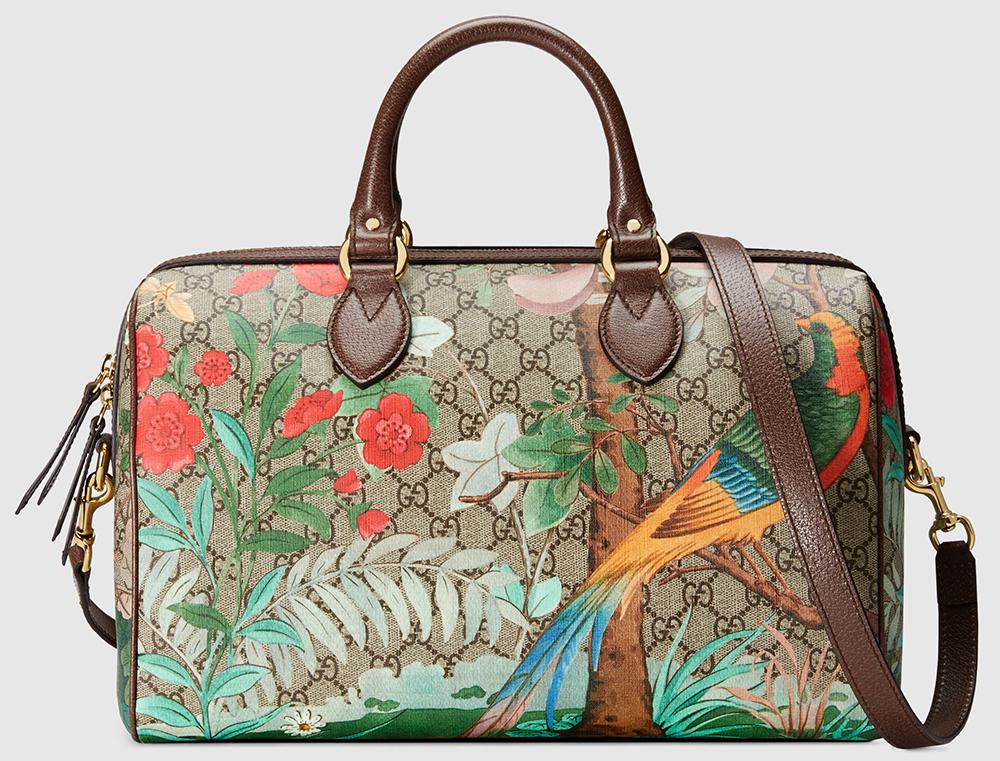 Gucci-Tian-GG-Supreme-Boston-Bag