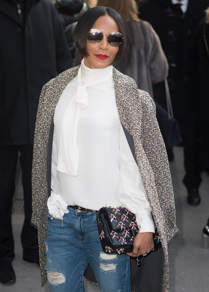 Jada-Pinkett-Smith-Chanel-Beaded-Classic-Flap-Bag