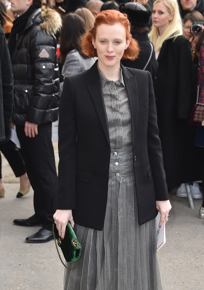 Karen-Elson-Chanel-Flap-Bag