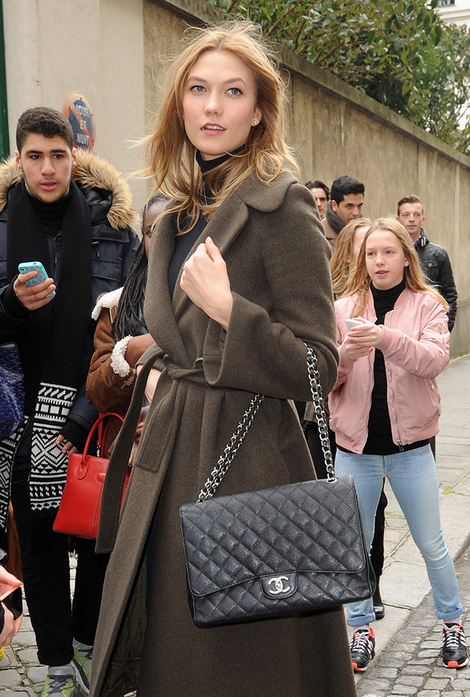 Karlie-Kloss-Chanel-Classic-Flap-Bag