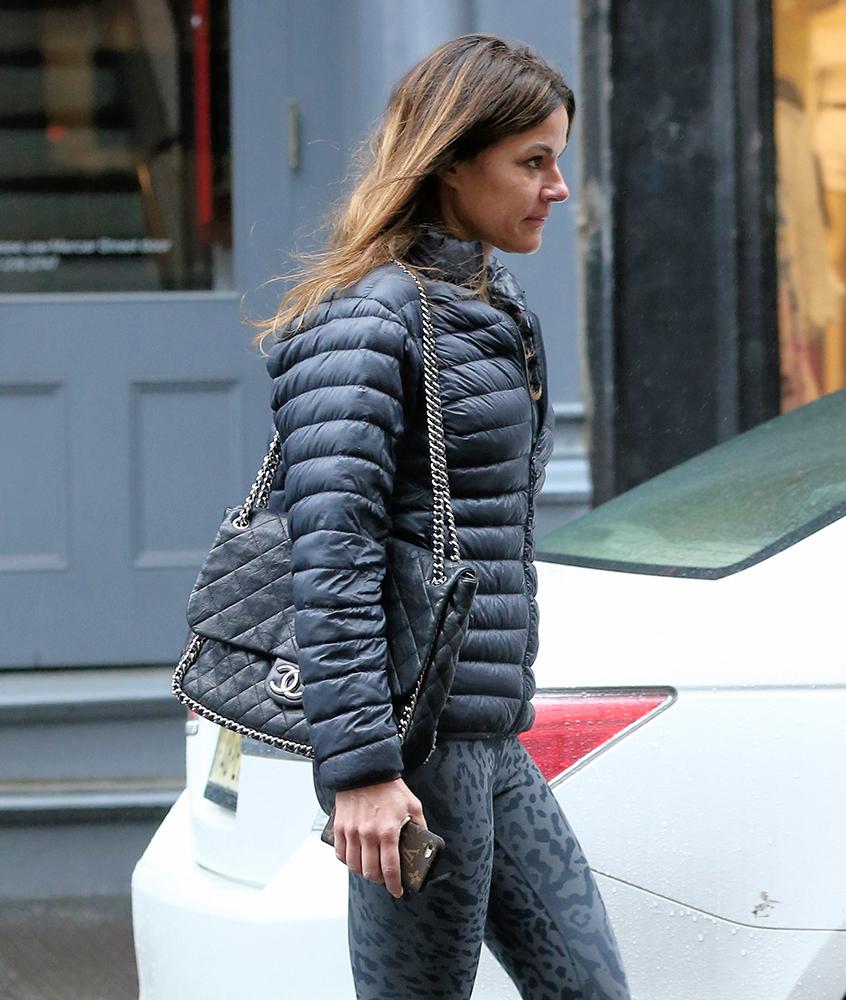 Kelly-Bensimon-Chanel-Chain-Trim-Flap-Bag