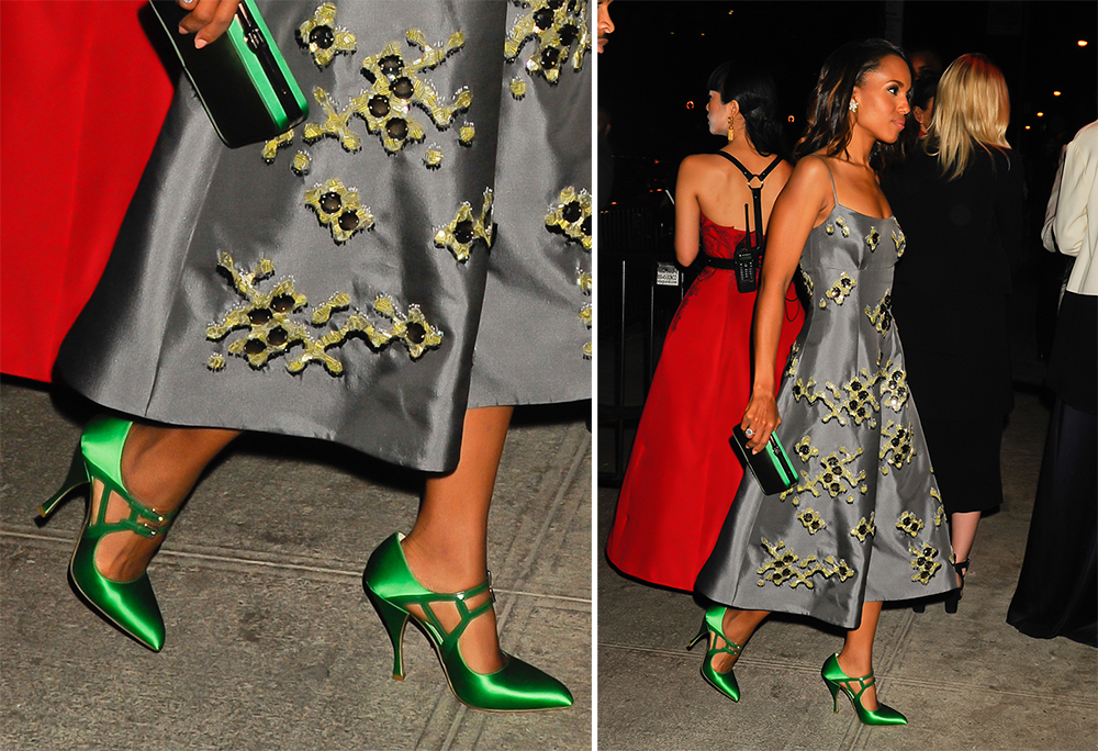 Kerry-Washington-Prada-Satin-Pumps
