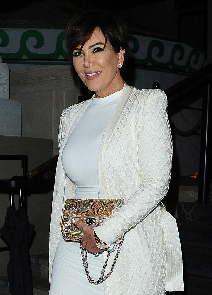 Kris-Jenner-Chane-Strass-Flap-Bag
