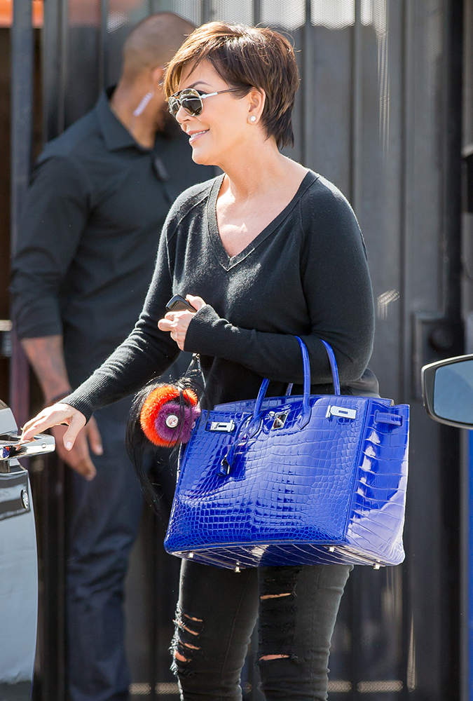 celebs have now decided that bright white bags are totally