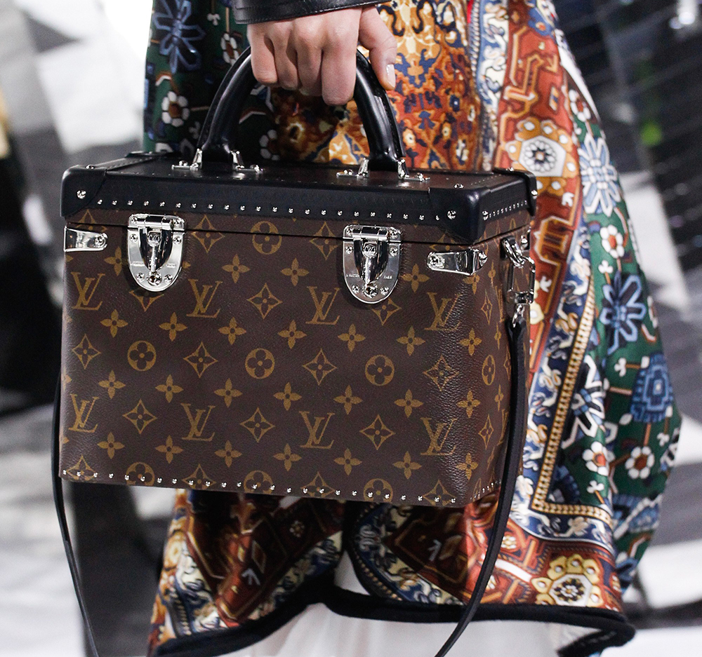 a764136f81 Louis Vuitton s Fall 2016 Bags Introduced New Shapes and Prints ...