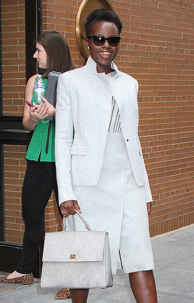 Lupita-Nyongo-Dove-Grey-Top-Handle-Bag