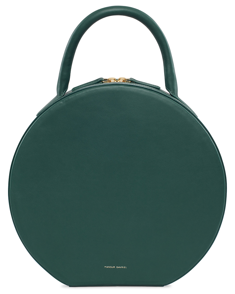 Mansur-Gavriel-Circle-Bag-Moss-Leather