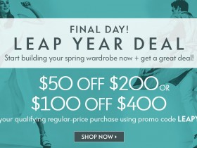 Neiman Marcus Leap Year Deal