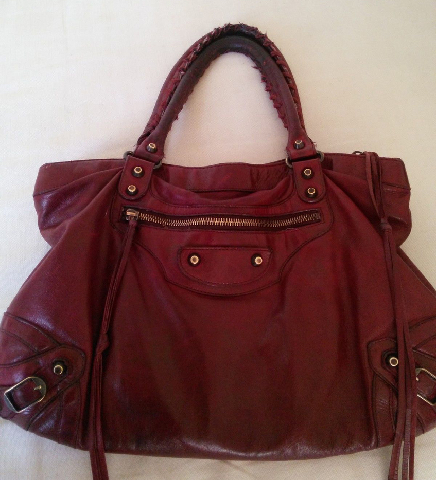 Old-Red-Balenciaga-Bag