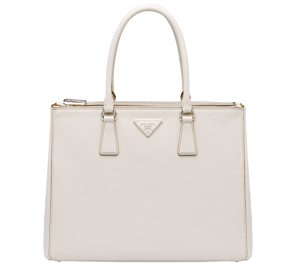 Prada Galleria Bag Chalk White