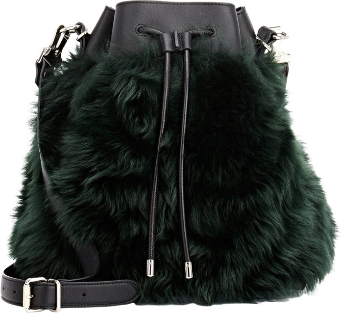 Proenza-Schouler-Shearling-Bucket-Bag