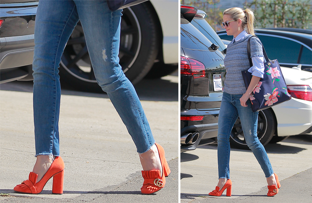 Reese-Witherspoon-Gucci-Suede-Pumps