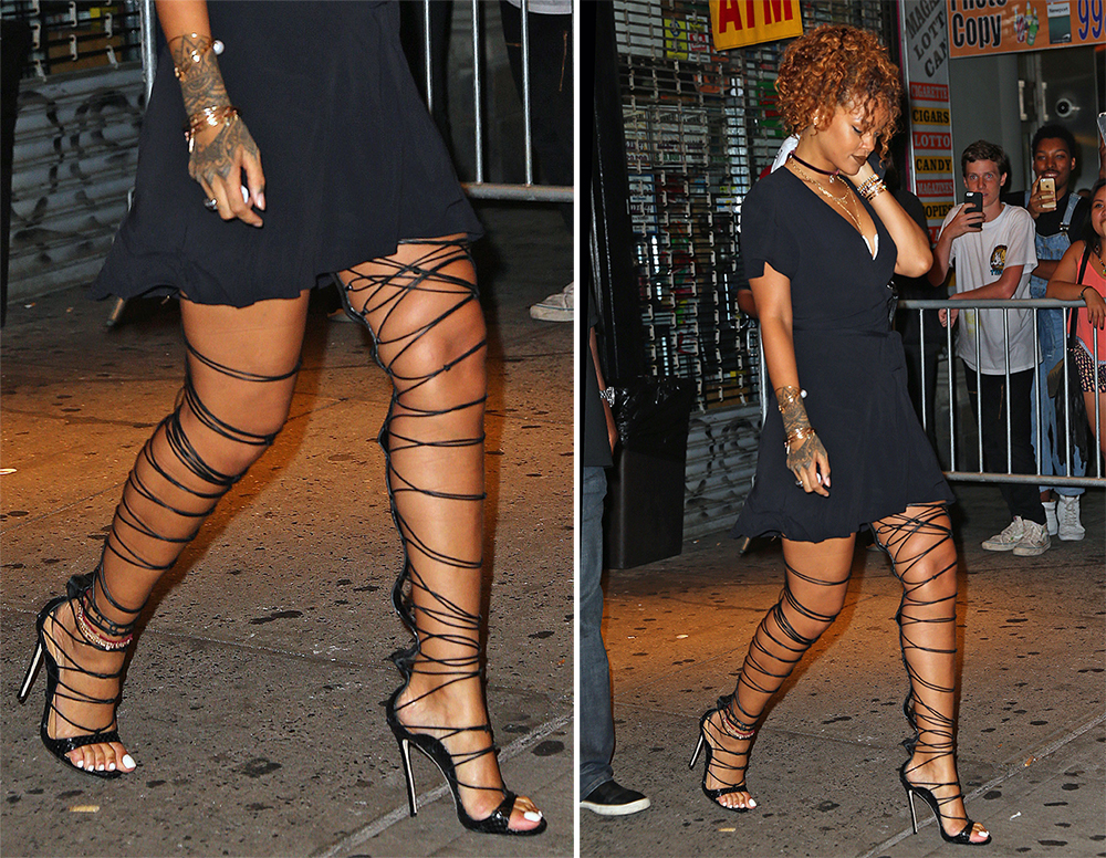 Rihanna-DSquared-Riri-Sandals