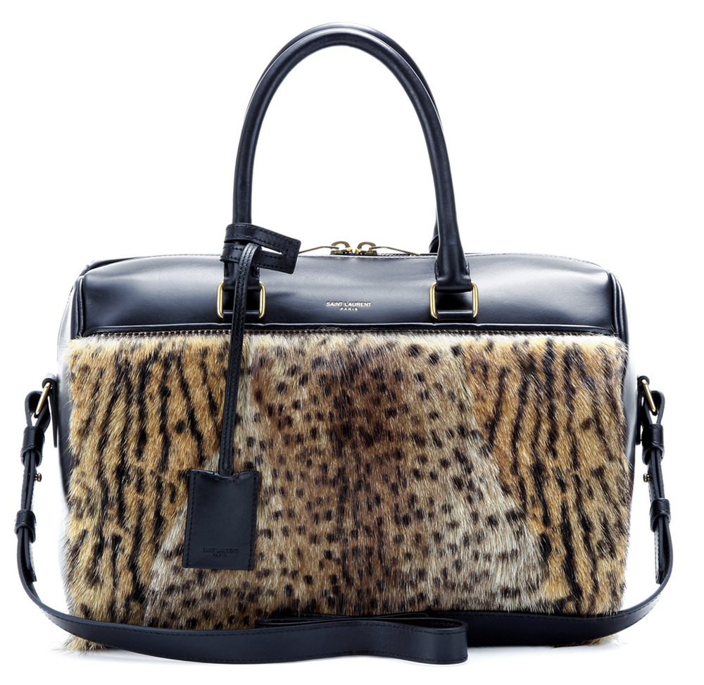 Saint-Laurent-Fur-Classic-Duffel-Bag