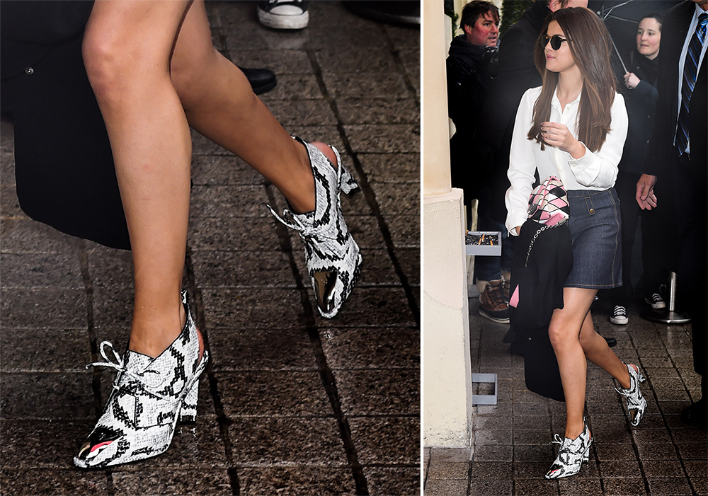 Selena-Gomez-Louis-Vuitton-Cosplay-Low-Snakeskin-Boots