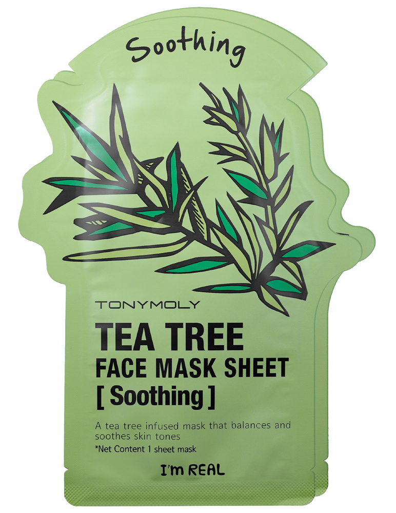 TONYMOLY-Im-Real-Tea-Tree-Soothing-Face-Mask