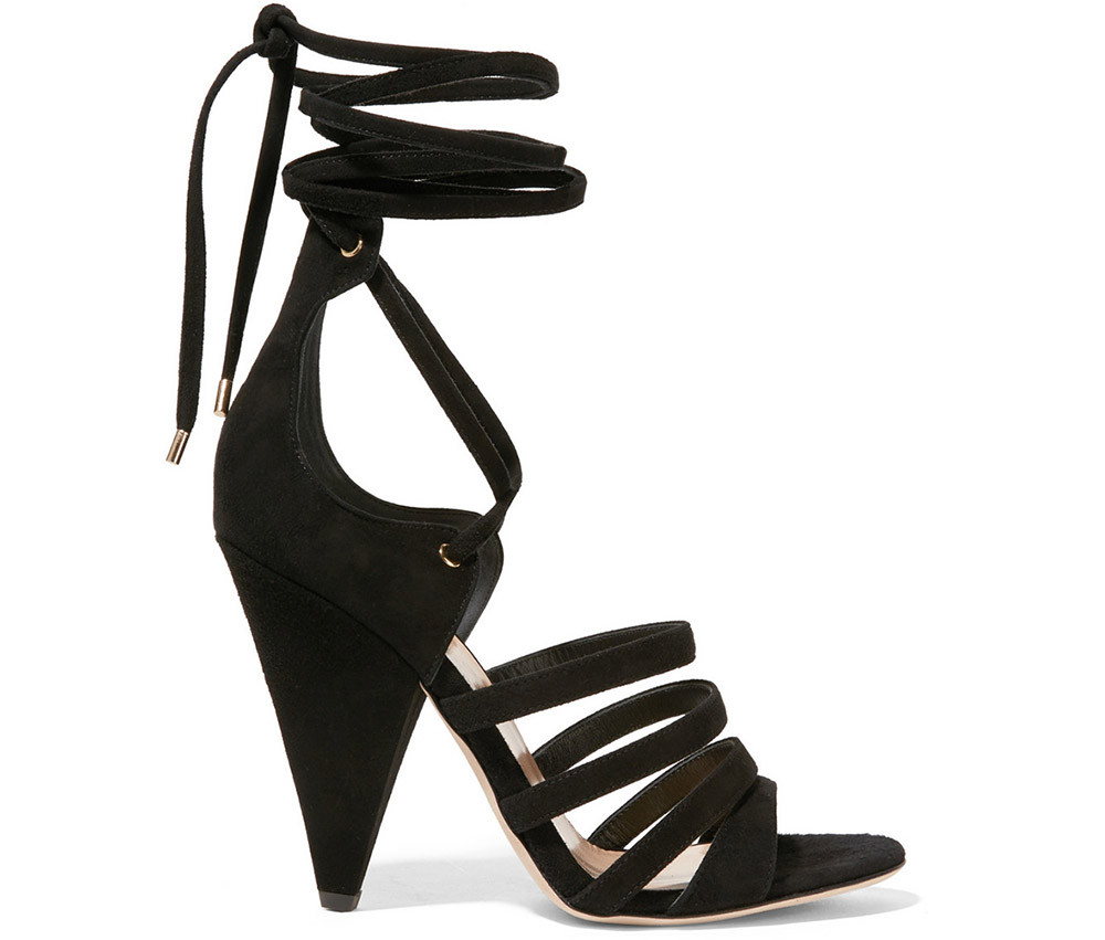Tamara Mellon Cosmic Trip Suede Sandals