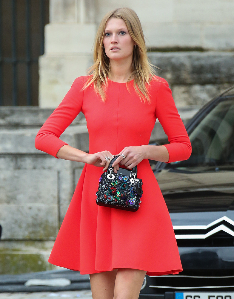 Toni-Garrn-Dior-Mini-Lady-Dior-Bag