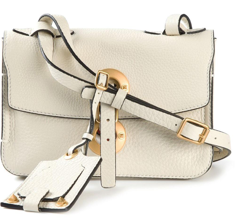 Valentino-Eyelet-Shoulder-Bag