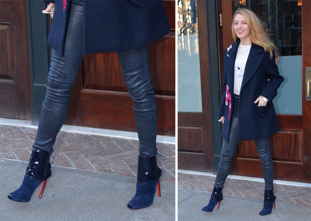 Blake-Lively-Christian-Louboutin-Lace-Up-Booties