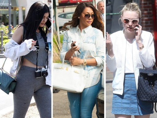 Celebs Stick with Chanel and Hermès This Week, As Ever