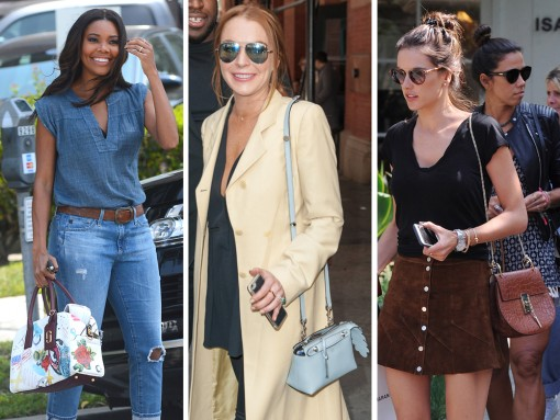 This Week, A Fendi Mini Has Its Moment Right Alongside A Certain Celeb's Enormous Engagement Ring