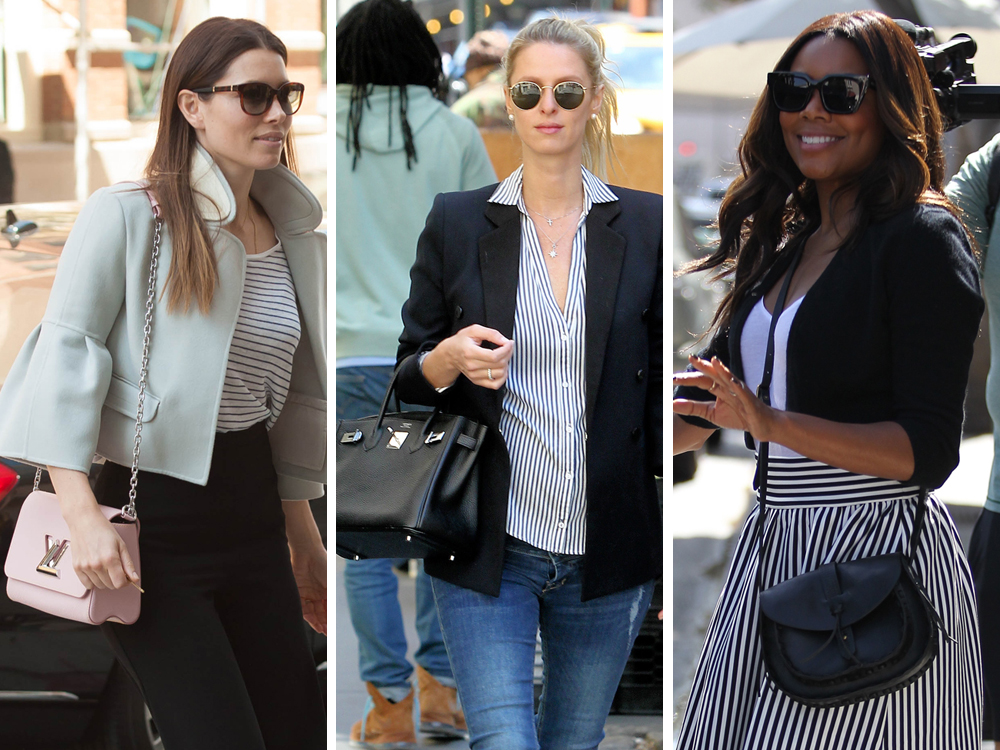 This Week Celebs Like The Pricey Birkins Pale Pink And