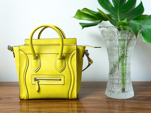 What Fits: Céline Nano Luggage Tote