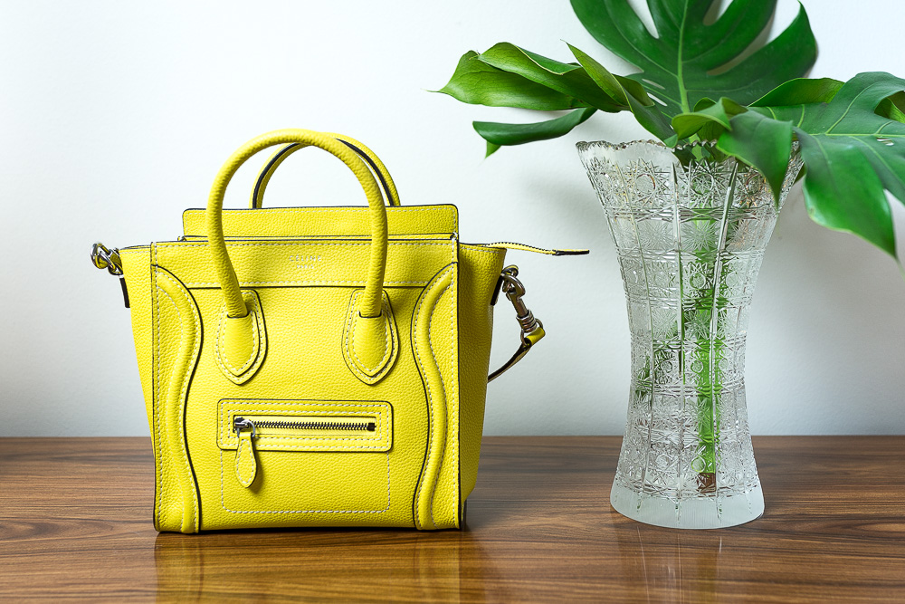 d673f8841 What Fits: Céline Nano Luggage Tote - PurseBlog
