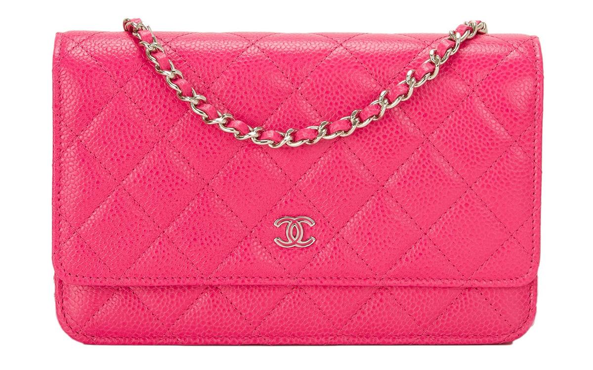 Chanel Pink WOC Portero