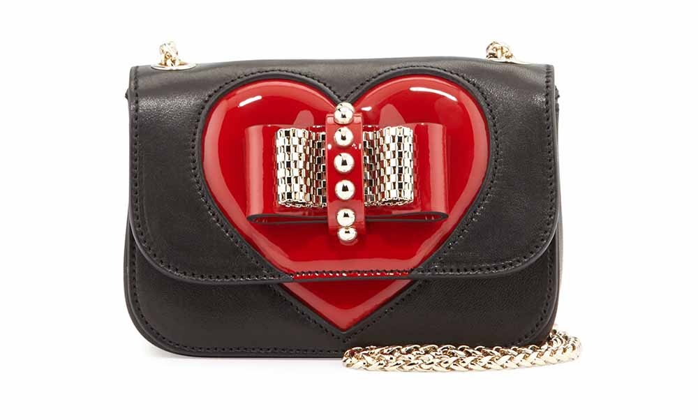 Christian Louboutin Sweety Charity Valentine Shoulder Bag