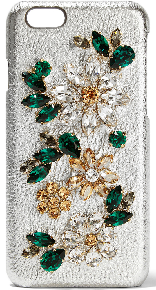 Dolce-and-Gabbana-Crystal-Embellished-Leather-iPhone-6-Case