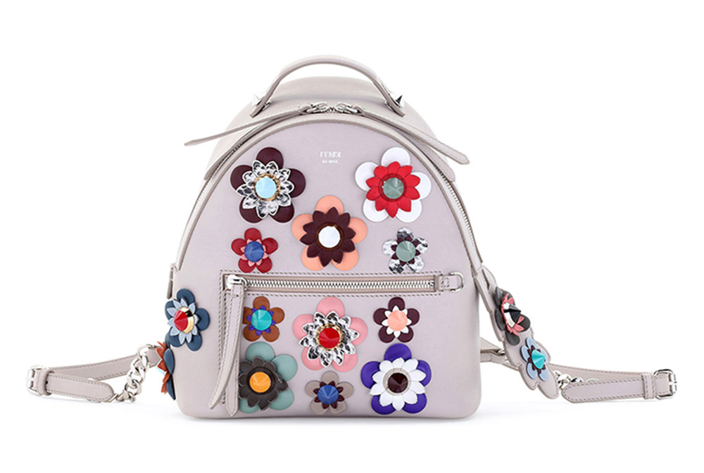 Fendi-Mini-Allover-Flowers-Backpack