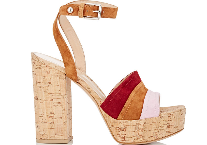 Gianvito Rossi Ankle-Strap Platform Sandals
