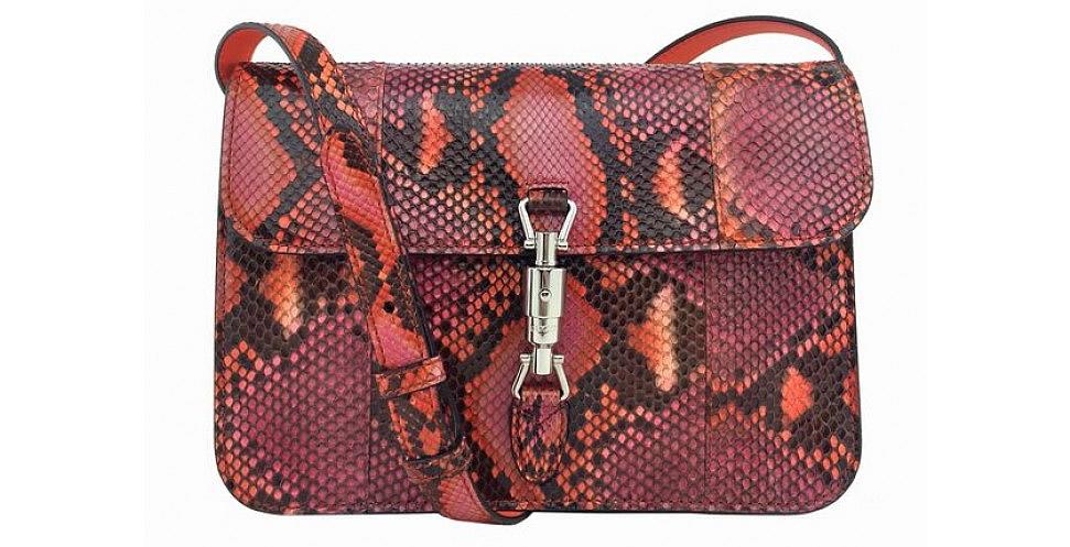 Gucci Jackie Soft Python Bag Portero