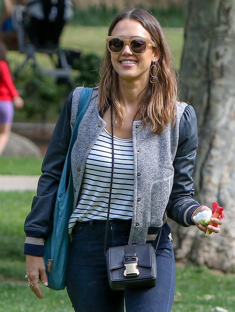 Jessica-Alba-Christopher-Kane-Safety-Buckle-Bag