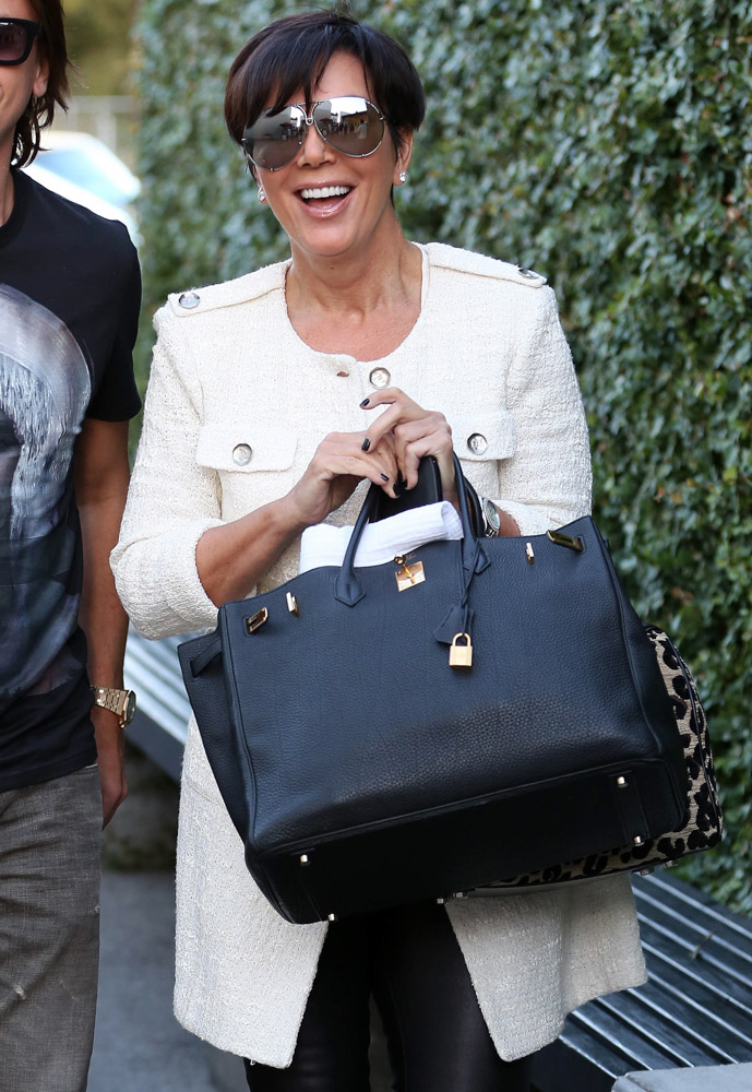 hermes clutch bag - We Did the Math: Here's What Kris Jenner's Herm��s Collection is ...