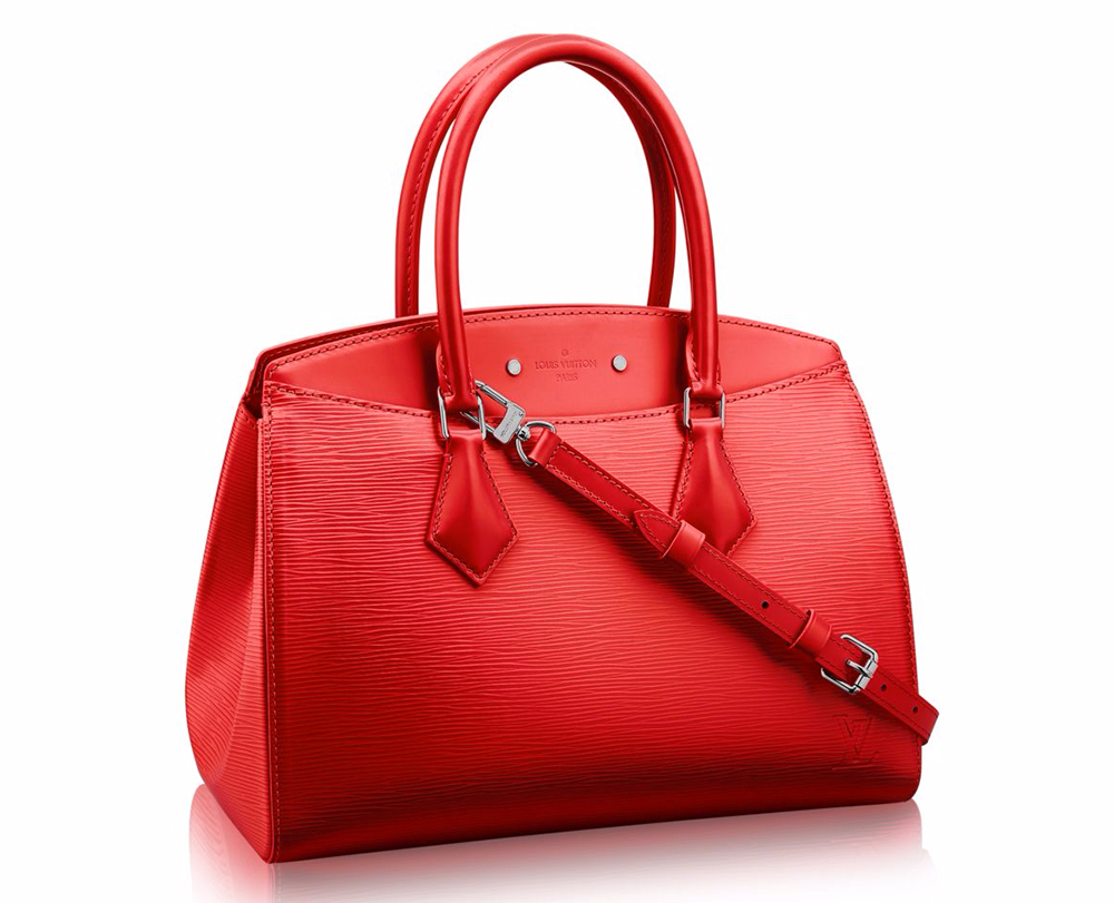 In praise of louis vuitton 39 s epi leather bags and for Louis vuitton miroir bag