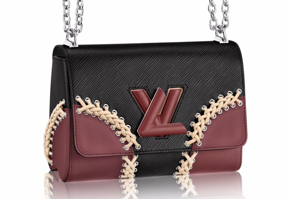 5016fde601fc Love It or Leave It  Louis Vuitton Twist MM with Braid Work Detail