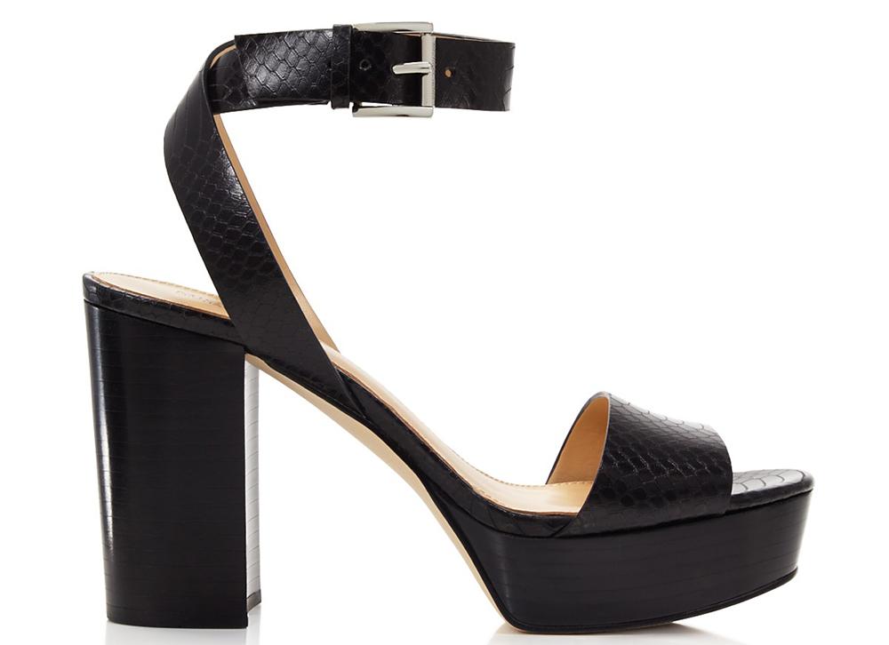 MICHAEL Michael Kors Leonora Embossed Platform Sandals