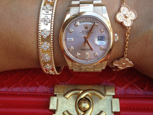 Rolex-and-Chanel-Bag
