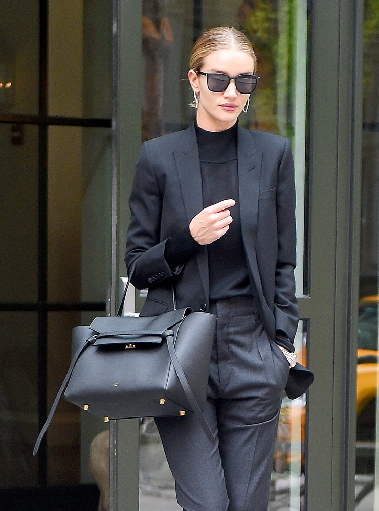 Rosie-Huntington-Whiteley-Celine-Belt-Bag