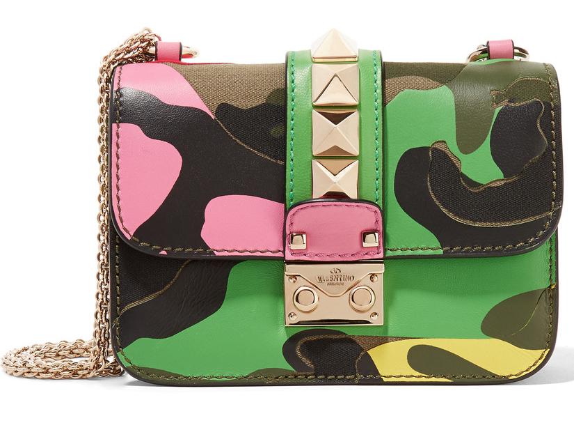Valentino-Mini-Camo-Lock-Bag