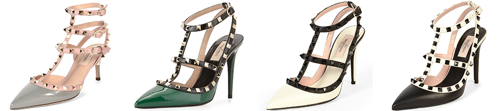 Valentino Rockstud Multicolor Pumps